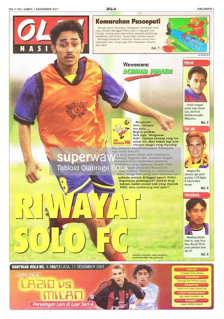 SEPAKBOLA NASIONAL RIWAYAT SOLO FC