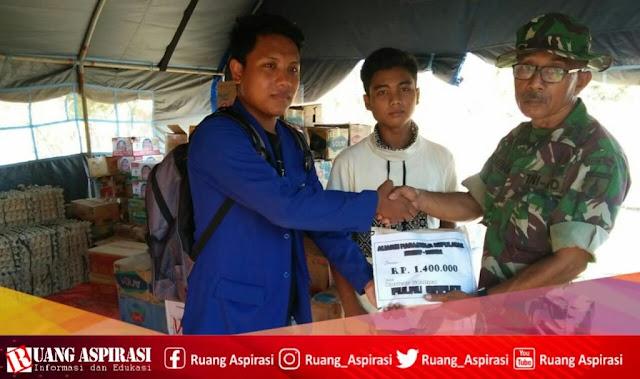 Peduli Kemanusiaan; Aliansi Mahasiswa Kepulauan Sumenep Salurkan Dana Untuk Korban Gempa Pulau Sapudi