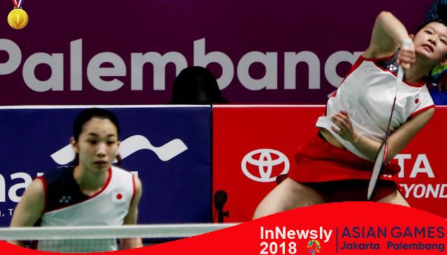 Asian Games Indonesia: Putri Jepang raih emas beregu