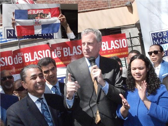 Baja apoyo a reelección del alcalde de NY en comunidad dominicana del Alto Manhattan