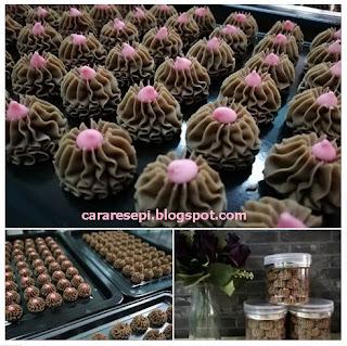Resepi Semperit Coklat Sukatan Cawan