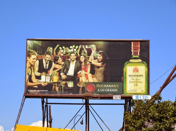 Buchanan's A Lo Grande Scotch Whisky billboard