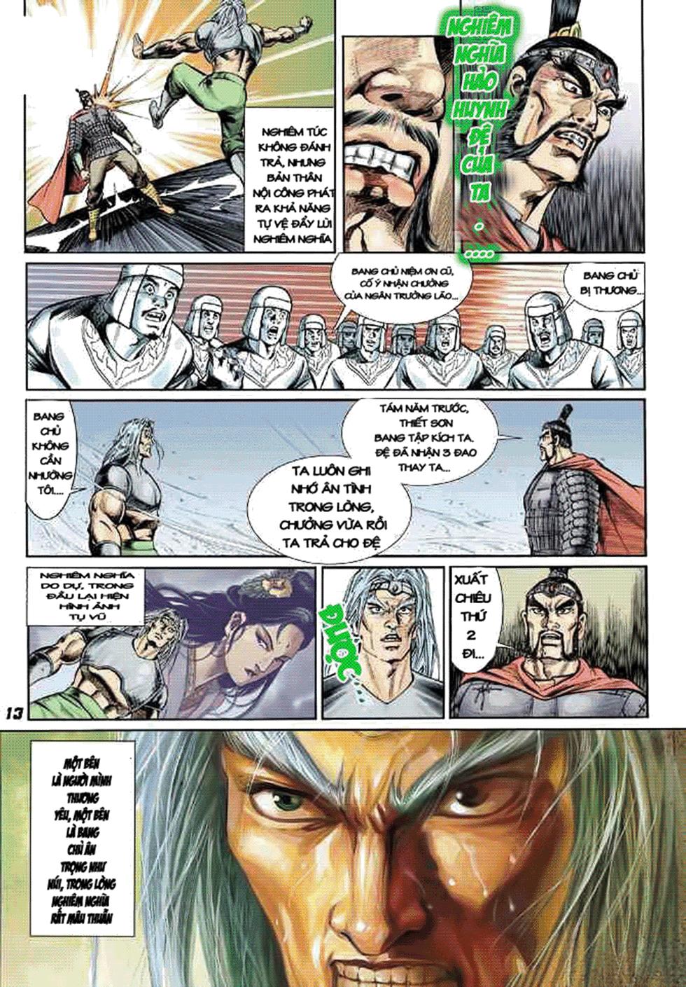 Tần Vương Doanh Chính chapter 8 trang 14