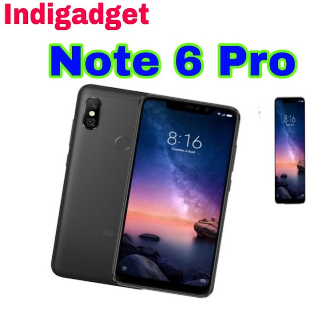 Redmi Note 6 pro भारत में 22 नवंबर को लॉन्च होगा, जानें इसकी फिचर्स/Redmi Note 6 Pro Will Launch In India On November 22, Know Its Features