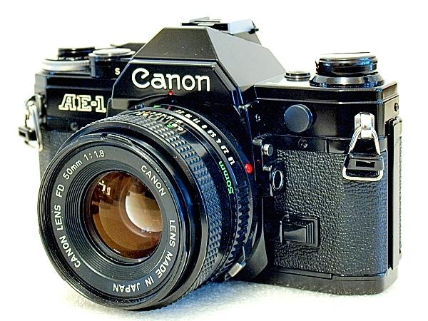 Canon Ae 1 35mm Slr Film Camera Imagingpixel