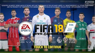 FTS Mod FIFA 18 Gojek Indonesia Apk + Data Obb
