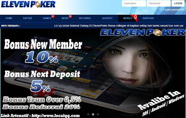 Link Alternatif ElevenPoker
