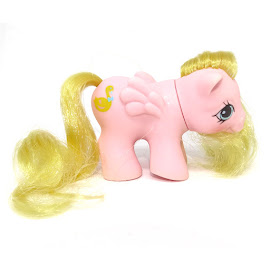My Little Pony Nibbles Year Five Newborn Twin Ponies G1 Pony