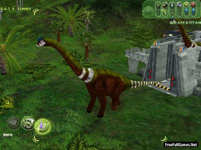 Jurassic Park Operation Genesis PC Game Free Download Full Version