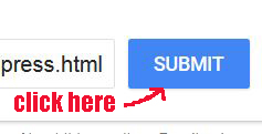 how to submit site to google for indexing
