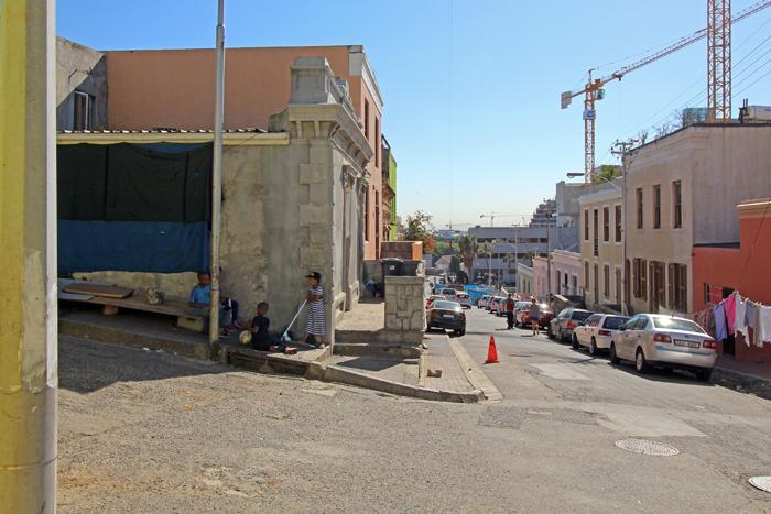 Arbeiterviertel Bo-Kaap in Kapstadt
