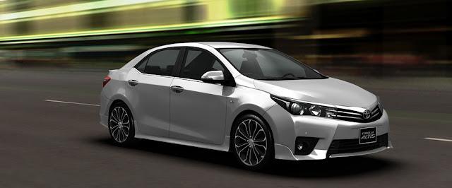 Toyota Corolla Atis CVT