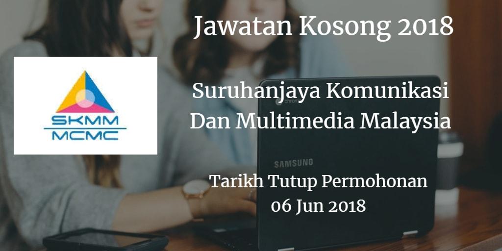 Jawatan Kosong MCMC 06 Jun 2018
