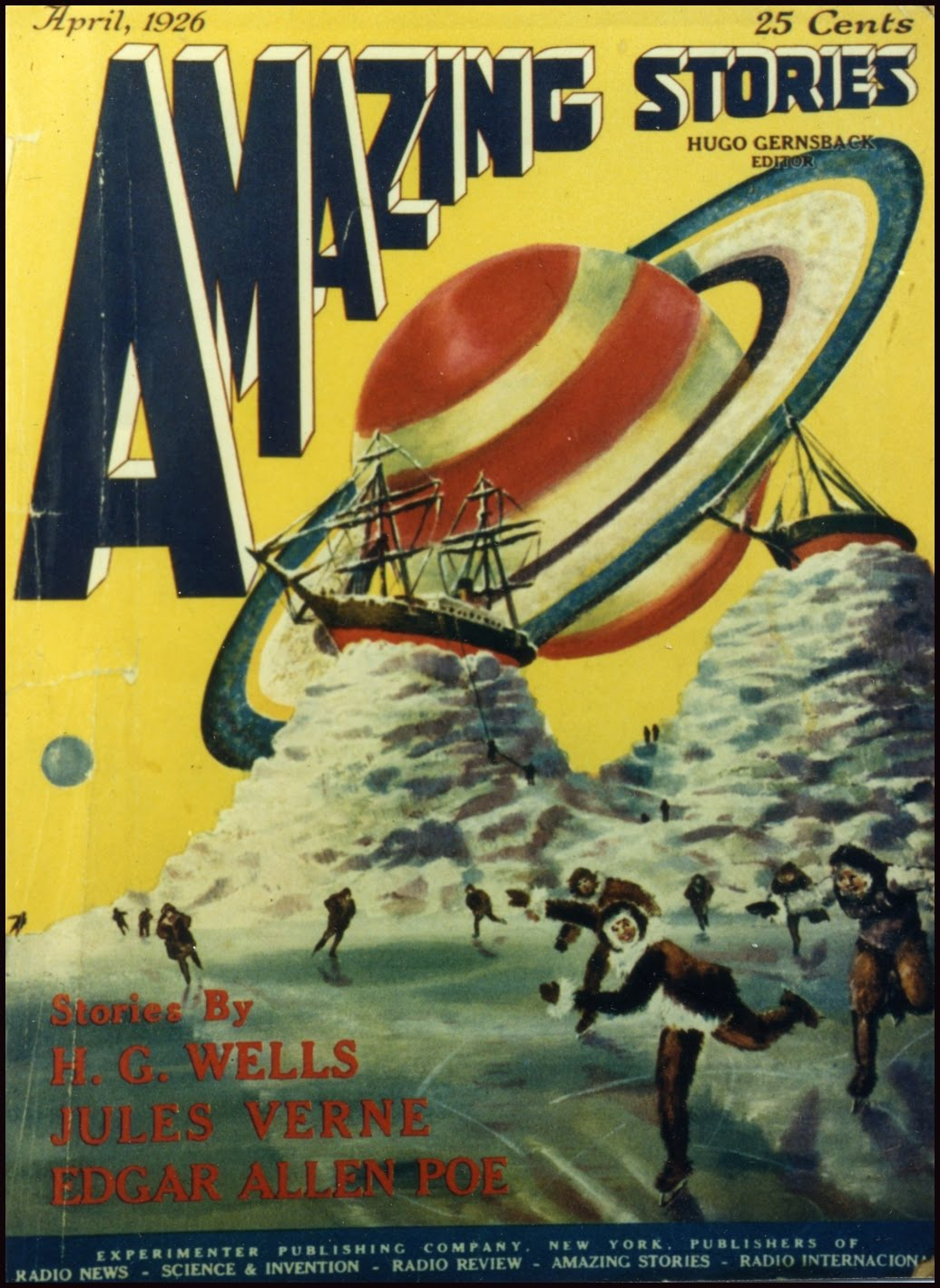 Amazing Stories Volume 21 Number 06: Science Fiction & Fantasy: A Research