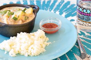 Speklappen met groenten in saus