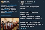 Warganet Kuliti Habis Jokower yang Fitnah Anies Disoraki karena Serobot Barisan di Open House Jokowi
