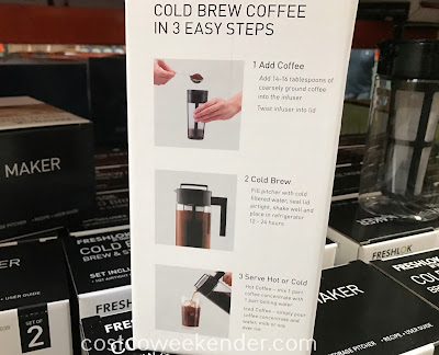 Cold brew coffee in 3 easy steps