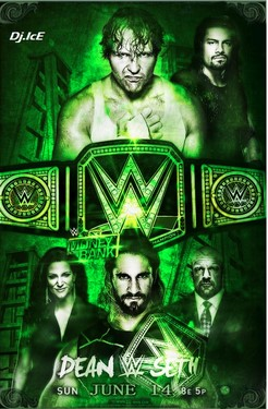 WWE Money in the Bank 2015 HDTV
