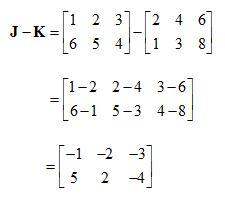 Matriks Pengurangan
