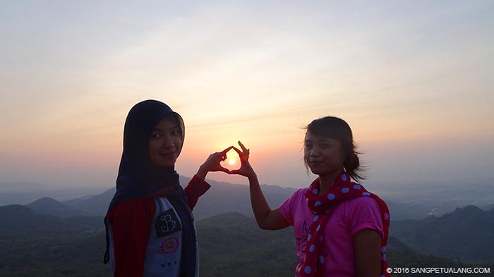 Sunrise di Bukit Cumbri