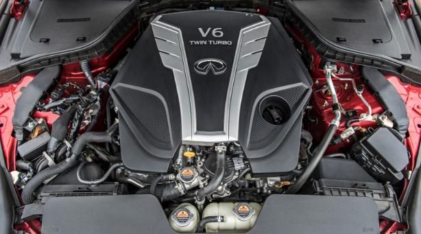 2017 Infiniti Q60 Engine
