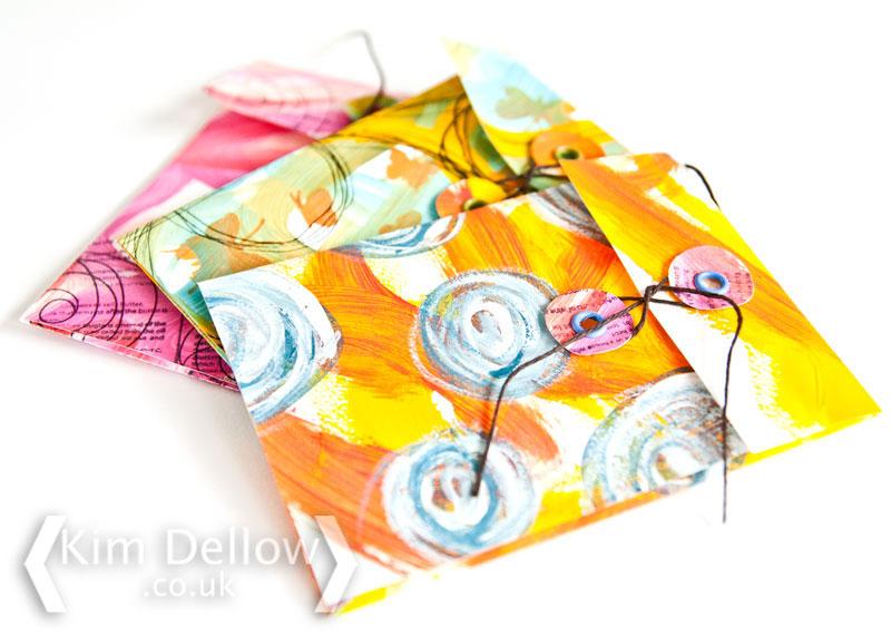 DIY Keepsake envelopes, click through to tutorial and template