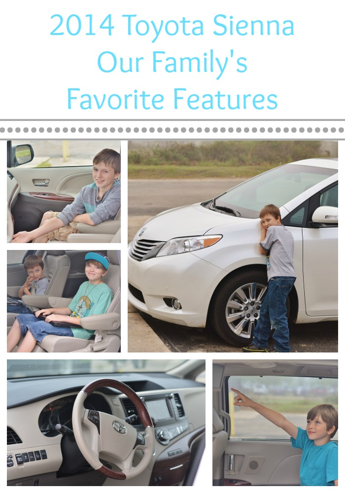 The 2014 Toyota Sienna is the perfect #familytravel vehicle. Come see why! #travel #SiennaDiaries