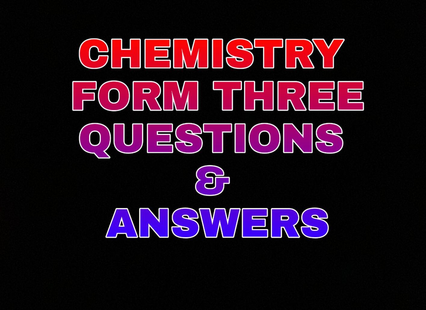FORM III TOPIC 6  IONIC THEORY AND ELECTROLYSIS - UNIFORUM-TZ