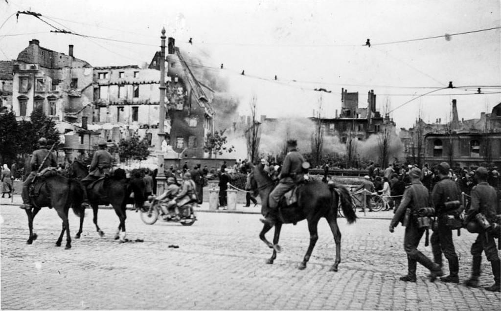 Рига в немецкой оккупации фотографии
