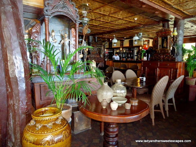 inside Alona Tropical_Beach Resort's restaurant Bohol