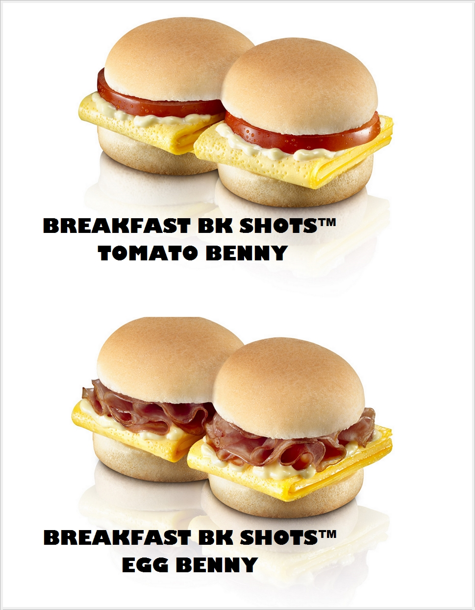Tasty Breakfast Choices Burger King