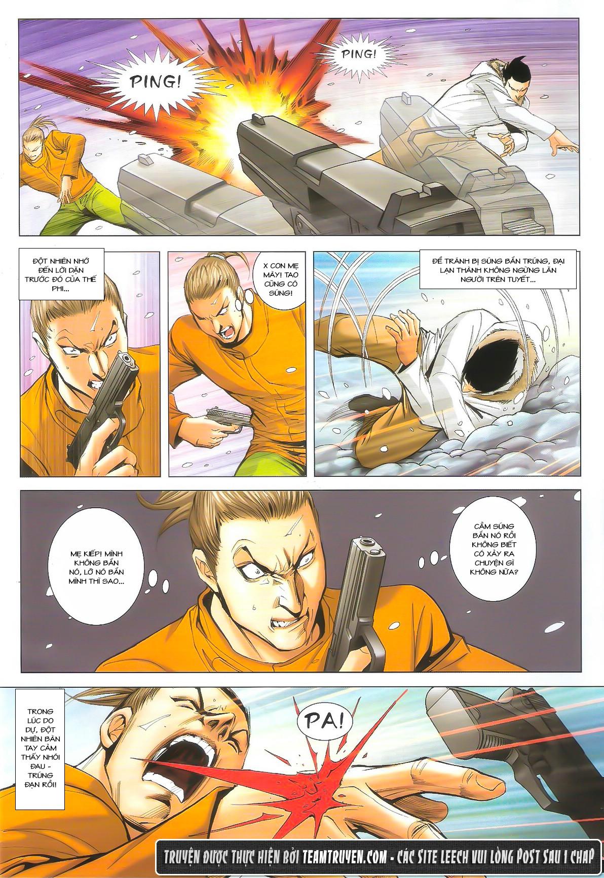 Người Trong Giang Hồ chapter 1614: tiễn mày một đoạn trang 19