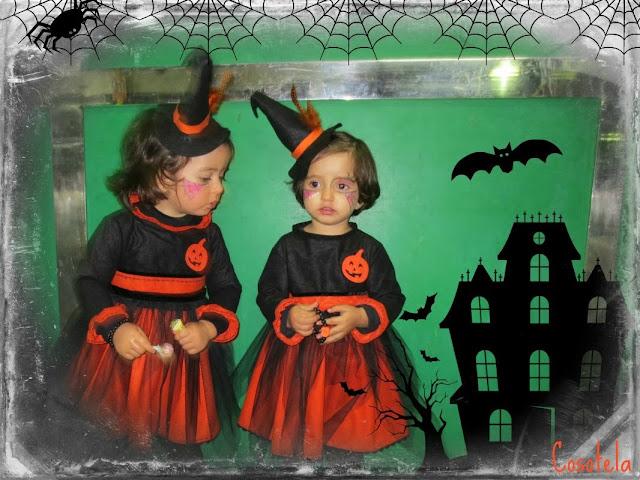disfraz de bruja para Halloween.