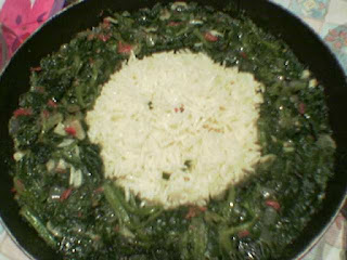 Cabbage with Spinach (Ispanakli Lahana)