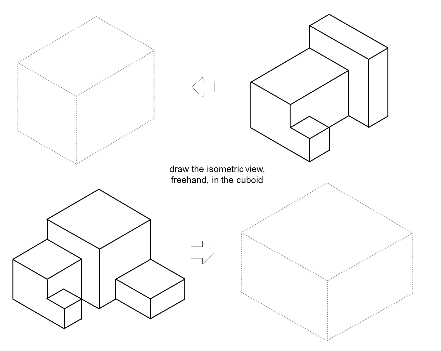 MEDIAN Don Steward mathematics teaching: isometric pictures