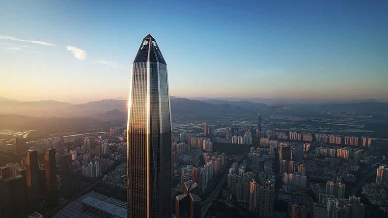 Топ самых высоких зданий 4 место