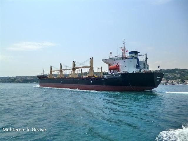 Boğaziçinde tanker kazası