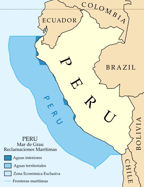 Sectores del mar peruano