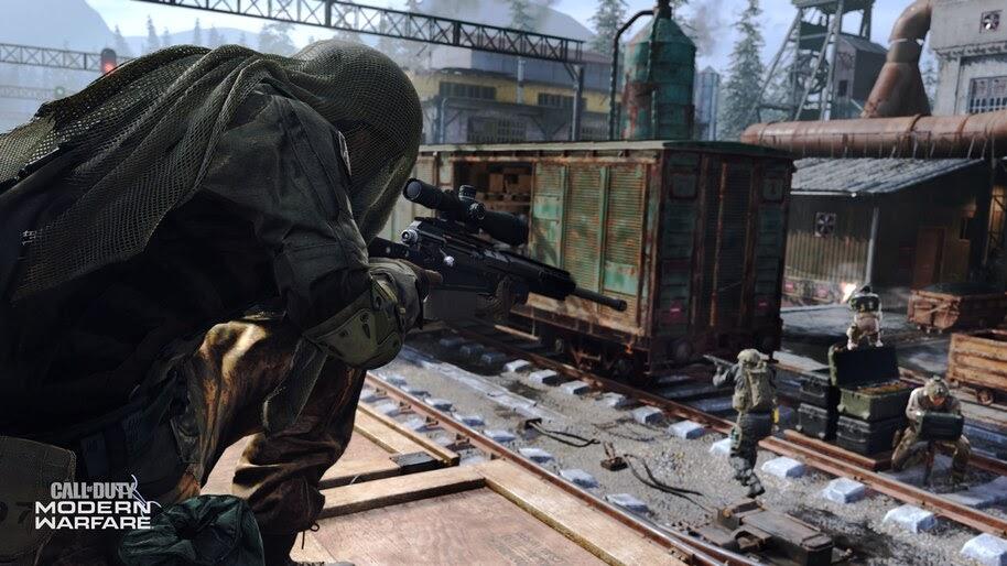 Call Of Duty Modern Warfare Sniper 4k Wallpaper 5 984