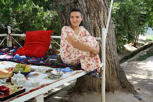 Tadjikistan, Douchanbé, Buvak, tapshan, tapchane, © L. Gigout, 2012