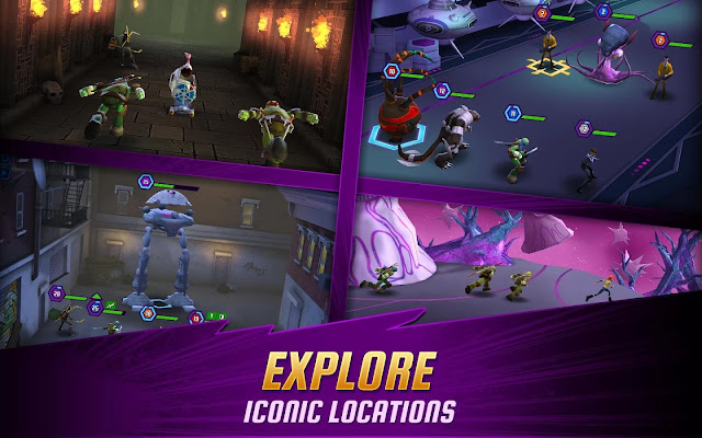 ninja turtles legends mod apk indir