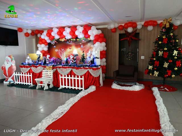 Decoração Festa de Natal - Aniversário infantil
