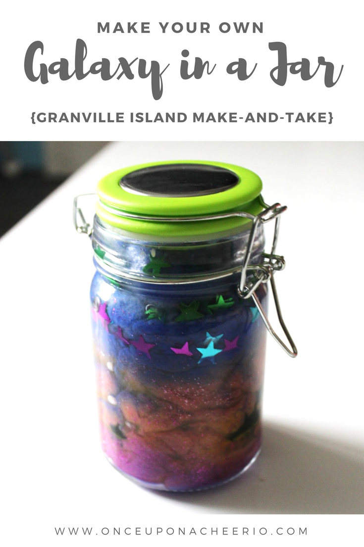 Granville Island Galaxy in a Jar