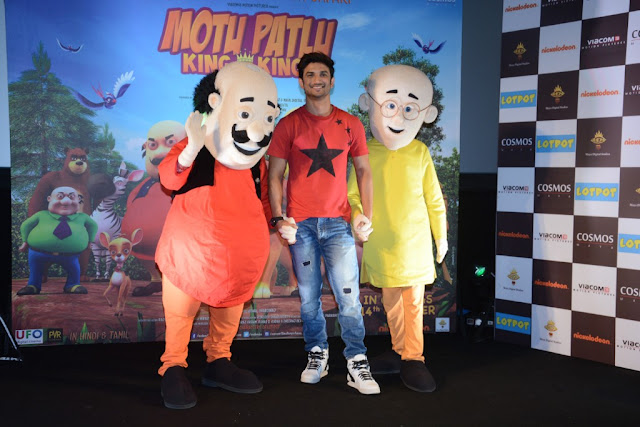 Motu Patlu - King of Kings, Trailer Launch, Sushant Singh Rajput