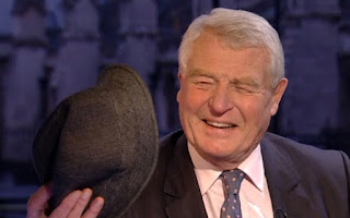Paddy Ashdown and a hat