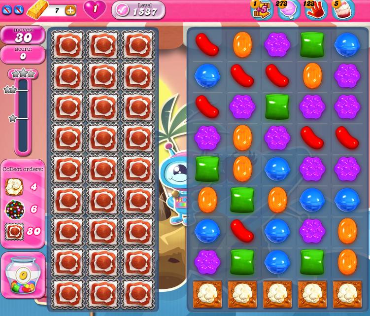 Candy Crush Saga 1537