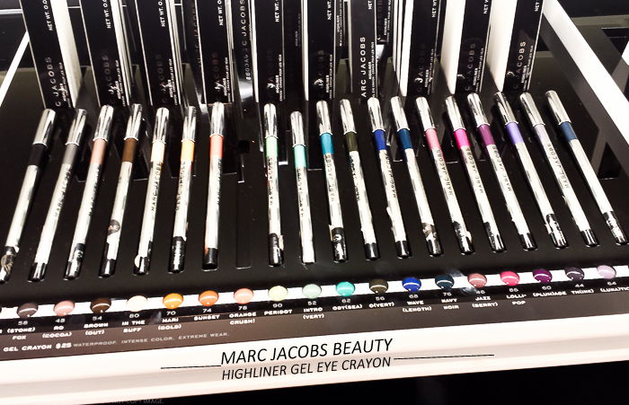 Marc Jacobs Beauty Highliner Gel Eyeliner Crayons - Swatches