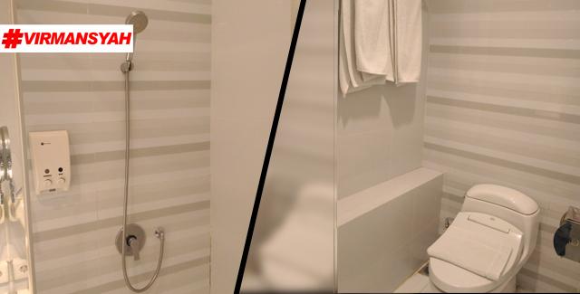 Toilet Hotel Everbright - ZEN Rooms Surabaya