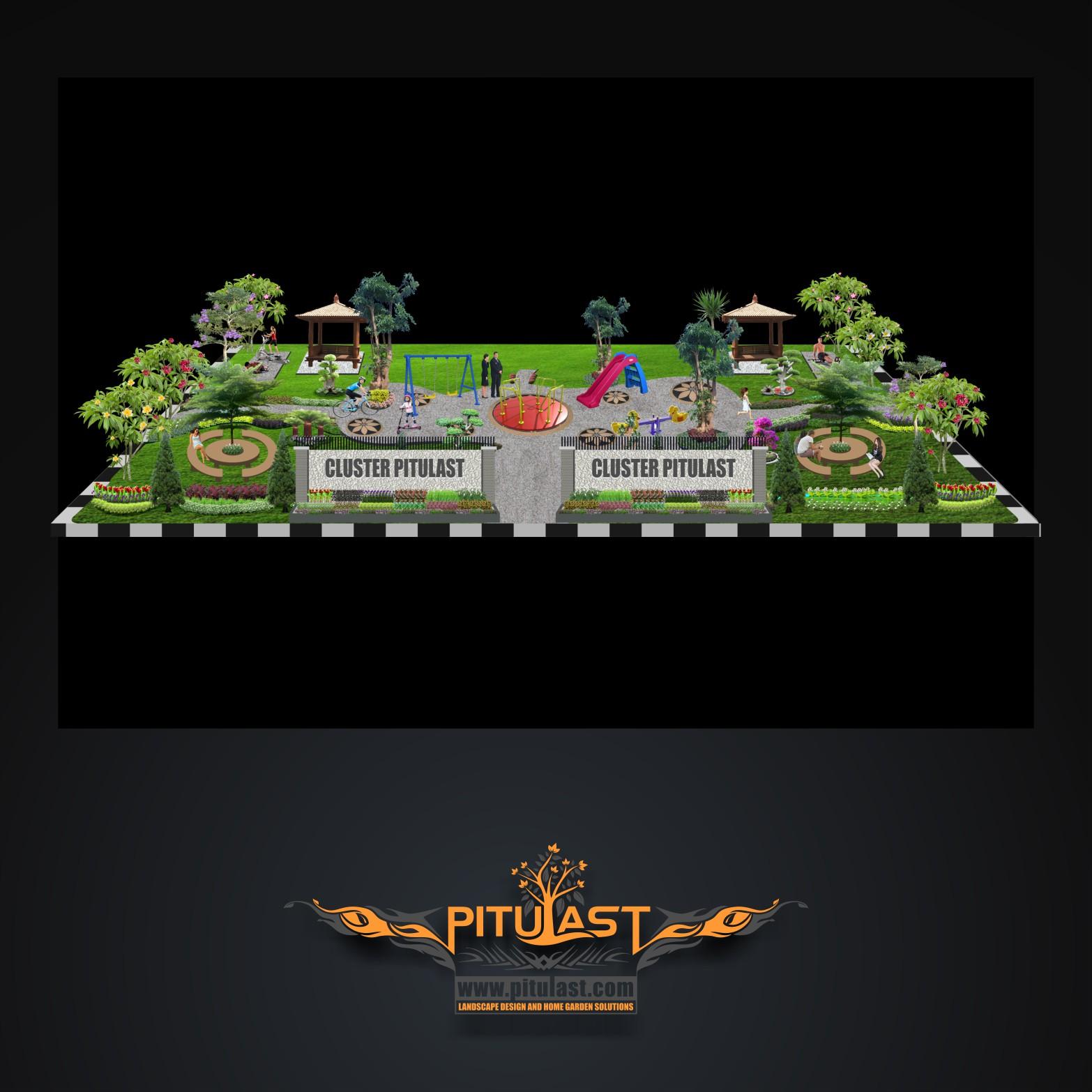 Taman Vertikal Murah Desain Taman Rumah