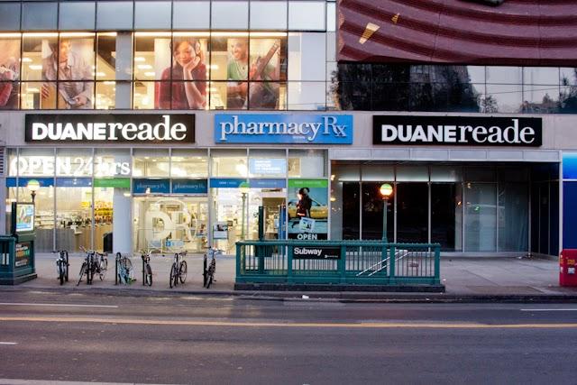 Rede de farmácias Duane Reade em Nova York